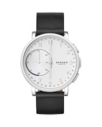 Skagen Hagen Connected Hybrid Smartwatch 42Mm Silver Black