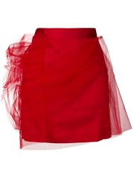 Y Project Tulle Layered Mini Skirt
