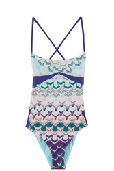 Missoni Rochelle Swimsuit Blue