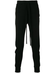 Lost And Found Ria Dunn Slim Fit Trousers Cotton Black