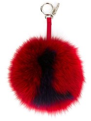 Fendi L Bag Charm Red