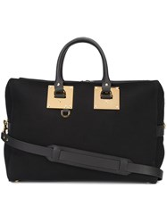 Sophie Hulme Zipped Tote Black