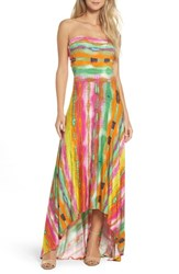 Felicity And Coco 'S Strapless Neon Print Maxi Dress