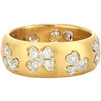 Cathy Waterman Floating Lights Wildflower Ring