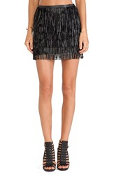 Wyldr Keep It Together Mini Skirt Black