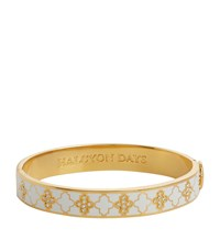 Halcyon Days Gold And Crystal Agama Bangle Beige