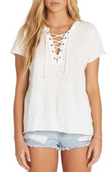 Billabong Let Loose Lace Up Top Cool Wip
