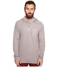 Tavik Rival Long Sleeve Knit Light Grey Men's Long Sleeve Pullover Gray