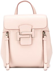 Tod's Classic Backpack Pink