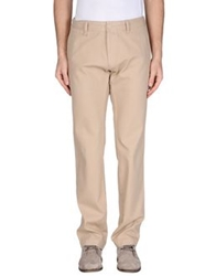 Boss Black Casual Pants Beige