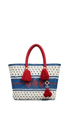 Yosuzi Roja Tote Bag Blue Multi