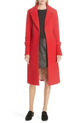 Joie Hersilia Wool Blend Coat Desert Rose