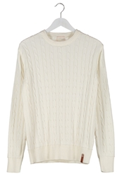 Knowledge Cotton Apparel Jumper Offwhite Off White