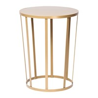 Petite Friture Hollo Stool Side Table Gold