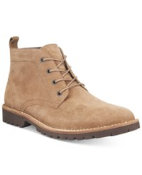 Kenneth Cole New York Men's Consignment Lug Xury Boots Men's Shoes Camel