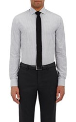 Ralph Lauren Black Label Men's Poplin Button Front Shirt Grey