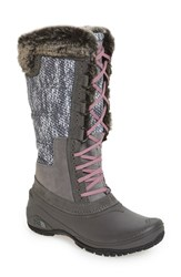 The North Face Women's 'Shellista' Boot Pearl Grey Rose