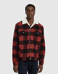 Insight Lumber City Flannel Jacket Red Check