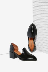Nasty Gal Appeal Leather Loafer