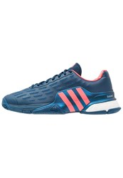 Adidas Performance Barricade 2016 Boost Outdoor Tennis Shoes Tech Steel Flash Red Blue