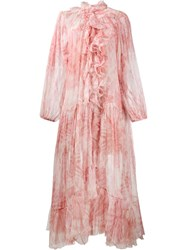 Zimmermann Winsome Dress Pink And Purple