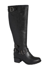 Intaglia Nashville Extra Wide Calf Boot Black