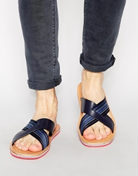 Paul Smith Jeans Kohoutek Sandals Navy
