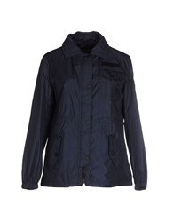 313 Tre Uno Tre Coats And Jackets Jackets Women Dark Blue