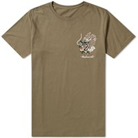Mhi Maharishi Ghost Dragon Tee Green