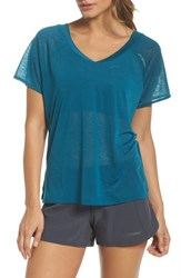Brooks Ghost Tee Ocean