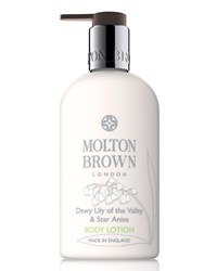 Molton Brown Dewy Lily Of The Valley And Star Anise Body Lotion 10 Oz. 300 Ml