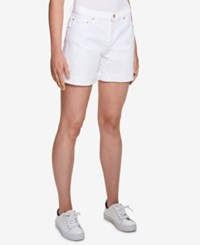 Tommy Hilfiger Denim Shorts Created For Macy's White