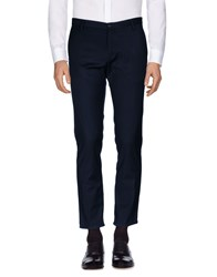 Officina 36 Casual Pants Dark Blue