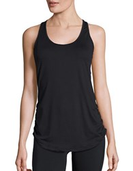 New Balance Ruched Athletic Tank Black