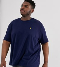 Lyle And Scott Logo T Shirt In Navy