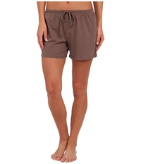 Jockey Cotton Essentials Boxer Taupe Women's Pajama
