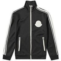 Moncler False Logo Track Jacket Black