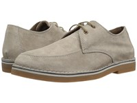 Hush Puppies President Mercer Taupe Suede Slip On Shoes