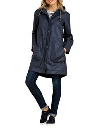 Seasalt Rain Collection Skysail Waterproof Coat Squid Ink