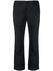 Zadig And Voltaire Pova Man Cropped Trousers Black