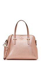 Kate Spade Maise Dome Satchel Rose Gold