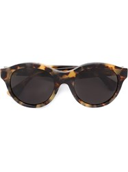 Retrosuperfuture 'Mona Cheetah' Sunglasses Brown