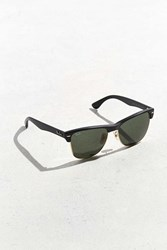 Ray Ban Oversized Clubmaster Sunglasses Black