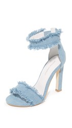 Jeffrey Campbell Inaba Ii Sandals Light Blue Denim