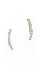 Shashi Noa Ear Climbers Clear Gold