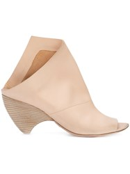 Marsell Open Toe Mules Nude And Neutrals