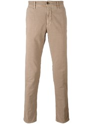 Incotex Stretch Slim Fit Jeans Nude Neutrals