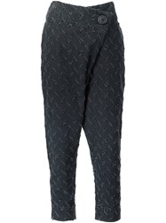 Vivienne Westwood Anglomania Flap Trousers Black