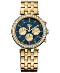Juicy Couture Women's Venice Gold Tone Stainless Steel Bracelet Watch 38Mm 1901334