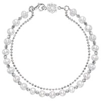 Dower And Hall Orissa Freshwater Pearl Bracelet Silver White